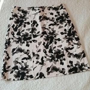 H&M Flower Skirt A Line